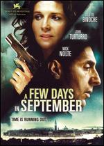 A Few Days in September - Santiago Amigorena