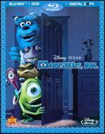 Monsters, Inc. [4 Discs] [Includes Digital Copy] [Blu-ray/DVD] - David Silverman; Lee Unkrich; Pete Docter