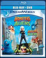 Monsters vs. Aliens [2 Discs] [Blu-ray/DVD]