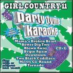 Party Tyme Karaoke: Girl Country, Vol. 11