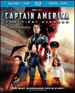 Captain America: The First Avenger [Blu-ray/DVD] [Includes Digital Copy]
