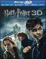 Harry Potter and the Deathly Hallows, Part 1 [French] [3D] [Blu-ray/DVD] [Includes Digital Copy]