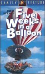 Five Weeks in a Balloon [Vhs]