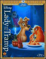 Lady and the Tramp [Diamond Edition] [3 Discs] [Includes Digital Copy] [Blu-ray/DVD] - Clyde Geronimi; Hamilton Luske; Wilfred Jackson