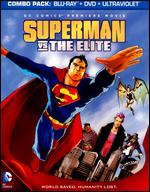 Superman vs. The Elite [2 Discs] [Includes Digital Copy] [UltraViolet] [Blu-ray/DVD]