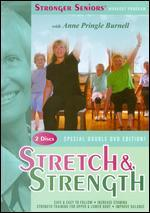 Stronger Seniors® Stretch and Strength Dvds-2 Disc Chair Exercise Program-Stretching, Aerobics, Strength Training, and Balance. Improve Flexibility, Muscle and Bone Strength, Circulation, Heart Health, and Stability. Developed By Anne Pringle Burnell