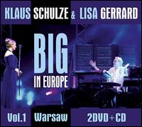 Big in Europe 1 [CD/DVD] - Klaus Schulze/Lisa Gerrard