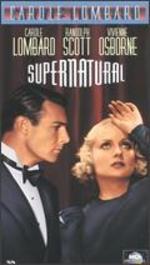 Supernatural New Vhs Carole Lombard