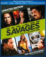 Savages [Unrated] [2 Discs] [Includes Digital Copy] [UltraViolet] [Blu-ray/DVD] - Oliver Stone