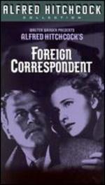 Foreign Correspondent [Vhs]
