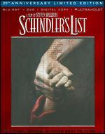 Schindler's List [20th Anniversary] [3 Discs] [Blu-ray/DVD]