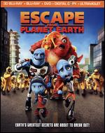Escape from Planet Earth [4 Discs] [Includes Digital Copy] [UltraViolet] [2D/3D] [Blu-ray/DVD] - Cal Brunker