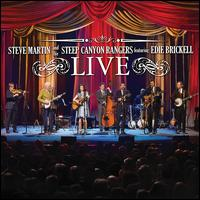 Live [DVD + CD] - Steve Martin & the Steep Canyon Rangers Featuring Edie Brickell