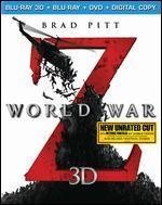 World War Z 3D [Includes Digital Copy] [3D/2D] [Blu-ray/DVD]