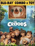 The Croods [2 Discs] [Includes Digital Copy] [With Toy] [Blu-ray/DVD]