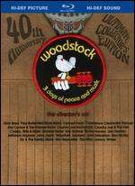 Woodstock: 3 Days of Peace and Music [40th Anniversary] [Collector's Edition] [Blu-ray]