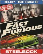 The Fast and the Furious [2 Discs] [Includes Digital Copy] [UltraViolet] [SteelBook] [Blu-ray/DVD] - Rob Cohen