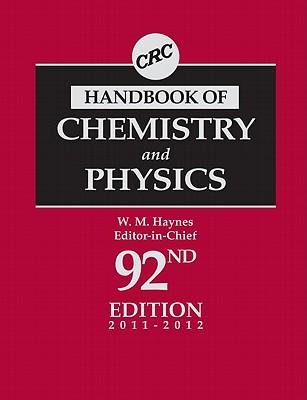 CRC Handbook of Chemistry and Physics - Haynes, William M (Editor)
