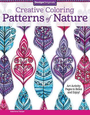 Creative Coloring Patterns of Nature - Harper, Valentina