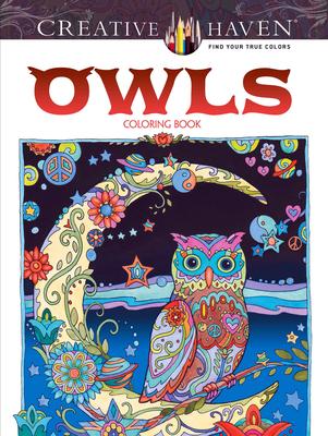 Creative Haven Owls Coloring Book - Sarnat, Marjorie