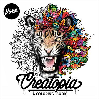 Creatopia: A Coloring Book - Vexx
