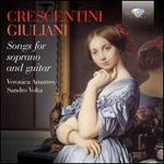 Crescentini, Giuliani: Songs for Soprano and Guitar