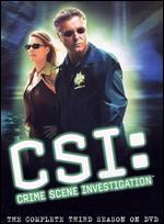 CSI: Crime Scene Investigation - The Complete Third Season [6 Discs] -