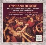 Cypriano de Rore: St. John Passion