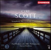 Cyril Scott: Symphony No. 1; Cello Concerto - Paul Watkins (cello); BBC Philharmonic Orchestra; Martyn Brabbins (conductor)