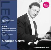 Cziffra in Prague 1955 - György Cziffra (piano)