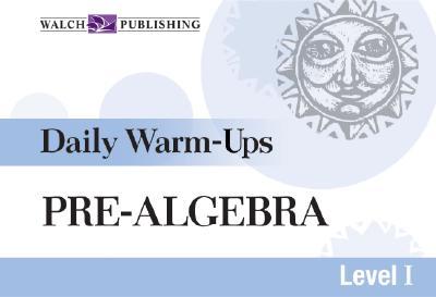 Daily Warm-Ups for Pre-Algebra - Martin, Hope, Dr.