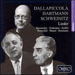 Dallapiccola, Hartmann, Schweintz: Lieder