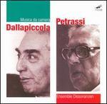 Dallapiccola, Petrassi: Musica da camera