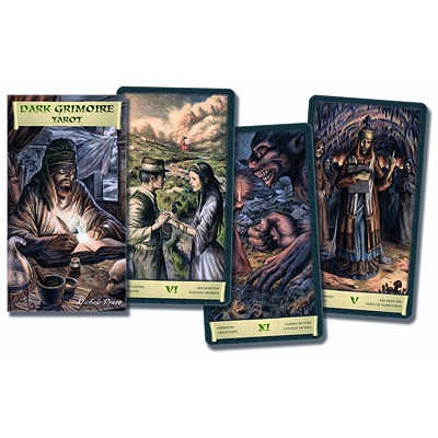 Dark Grimoire Tarot: A Horror Tarot for Halloween Mataphysics - Alligo, Pietro, and Minetti, Riccardo