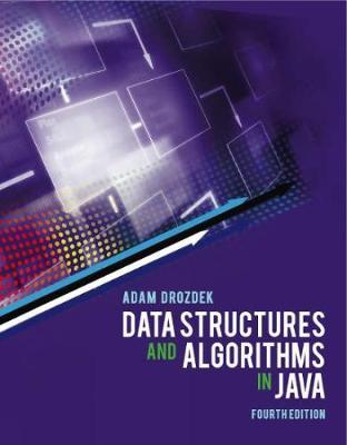 Data Structures and Algorithms in Java - Drozdek, Adam