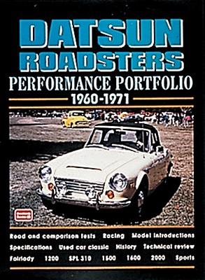 Datsun Roadsters 1960-71 Performance Portfolio - Clarke, R M