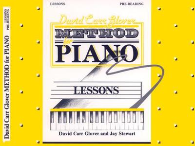 David Carr Glover Method for Piano Lessons: Pre-Reading - Glover, David