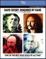 David Crosby: Remember My Name [Blu-ray]
