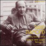 David Diamond: String Quartets Nos. 1, 5, 6