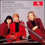 David Diamond: Trio for Violin, Cello and Piano; Quartet for Piano and String Trio; Trio in G Major
