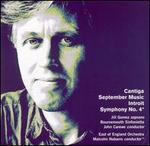 David Matthews: Cantiga; September Music; Introit; Symphony No. 4