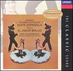 De Falla: El amor brujo; Granados: Intermezzo from Goyescas; Albéniz: Suite española