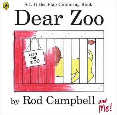 Dear Zoo Colouring Book - Campbell, Rod