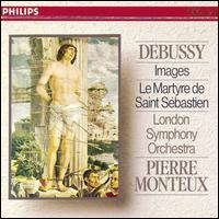 Debussy: Images; Le Martyre de Saint Sébastien - Roger Lord (cor anglais); London Symphony Orchestra; Pierre Monteux (conductor)