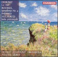 Debussy, Roussel & Milhaud: Orchestral Works - Detroit Symphony Orchestra; Neeme Järvi (conductor)