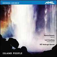 Deirdre Gribbin: Island People - Clíona Doris (harp); Loré Lixenberg (mezzo-soprano); Mark O'Keeffe (trumpet); Patricia Rozario (soprano); Vanbrugh Quartet