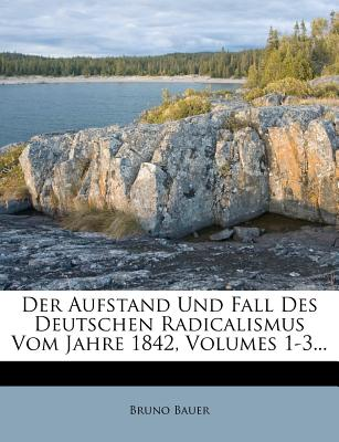 Der Aufstand Und Fall Des Deutschen Radicalismus Vom Jahre 1842, Volumes 1-3... - Bauer, Bruno
