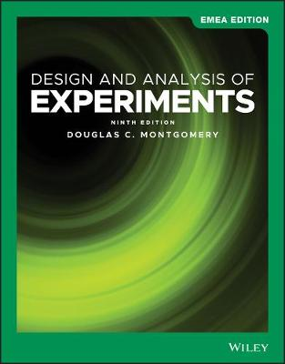 Design and Analysis of Experiments - Montgomery, Douglas C.