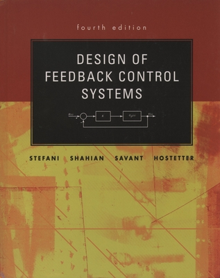 Design of Feedback Control Systems - Stefani, Raymond T