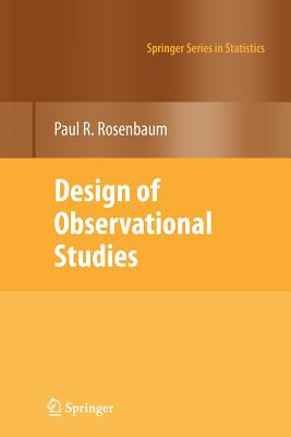 Design of Observational Studies - Rosenbaum, Paul R